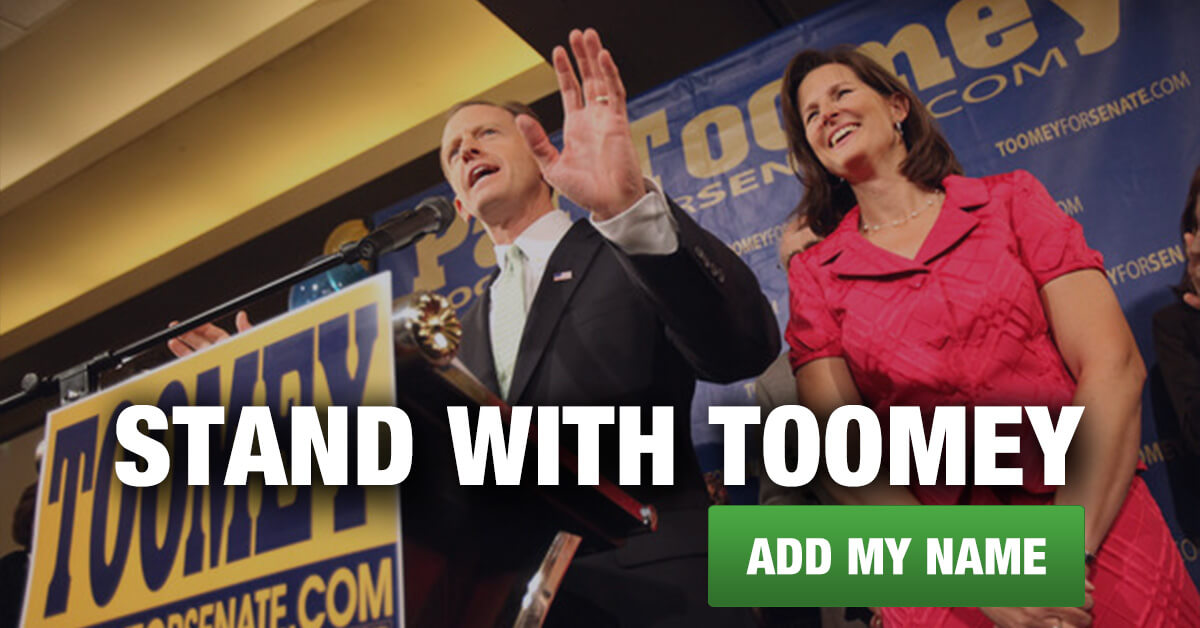 Stand With Pat Toomey