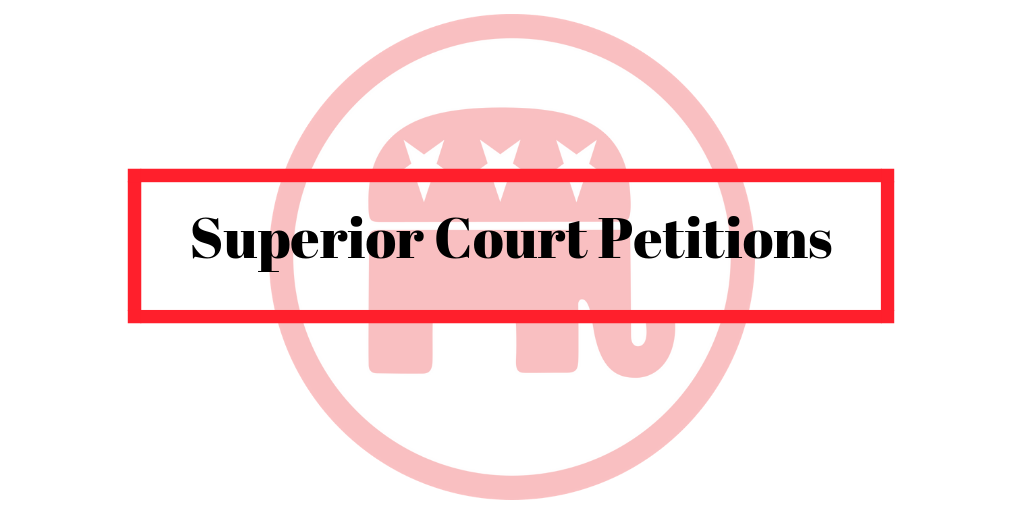 Get Petitions To Circulate For Our Endorsed Superior Court ...