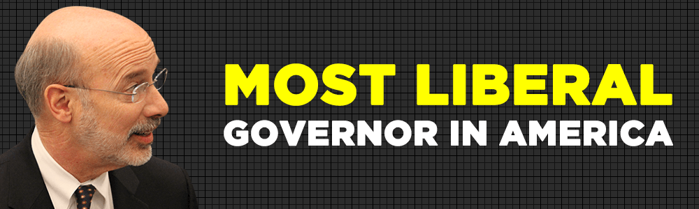 The Most Liberal Governor In America: Tom Wolf And The